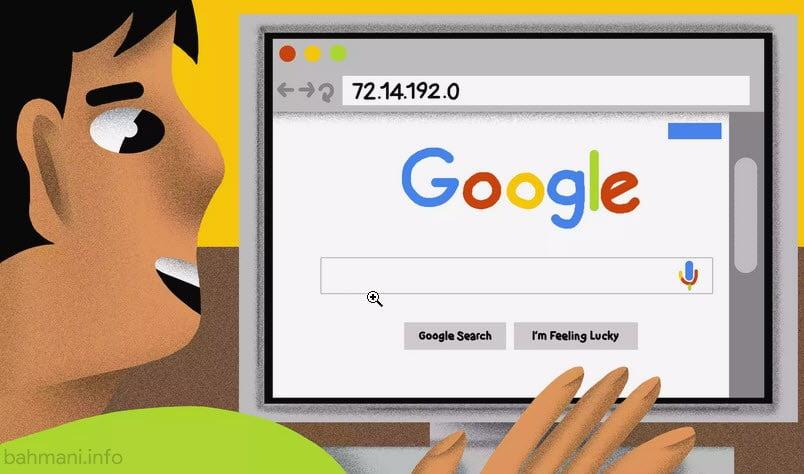 آی پی گوگل