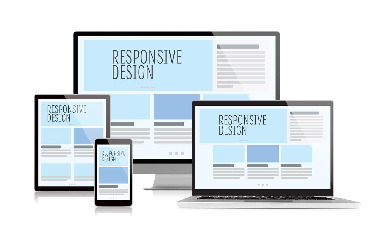 طراحی رسپانسیو یا واکنش پذیر سایت