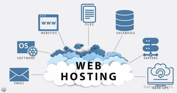 خدماتی که یک میزبان وب در اختیار شما قرار میدهد