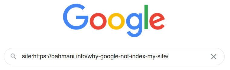وضعیت ایندکس سایت در گوگل