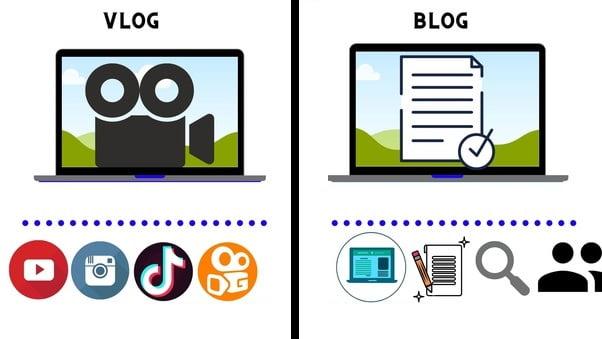 تفاوت بلاگر و ولاگر