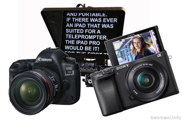 دوربین برای ولاگرها